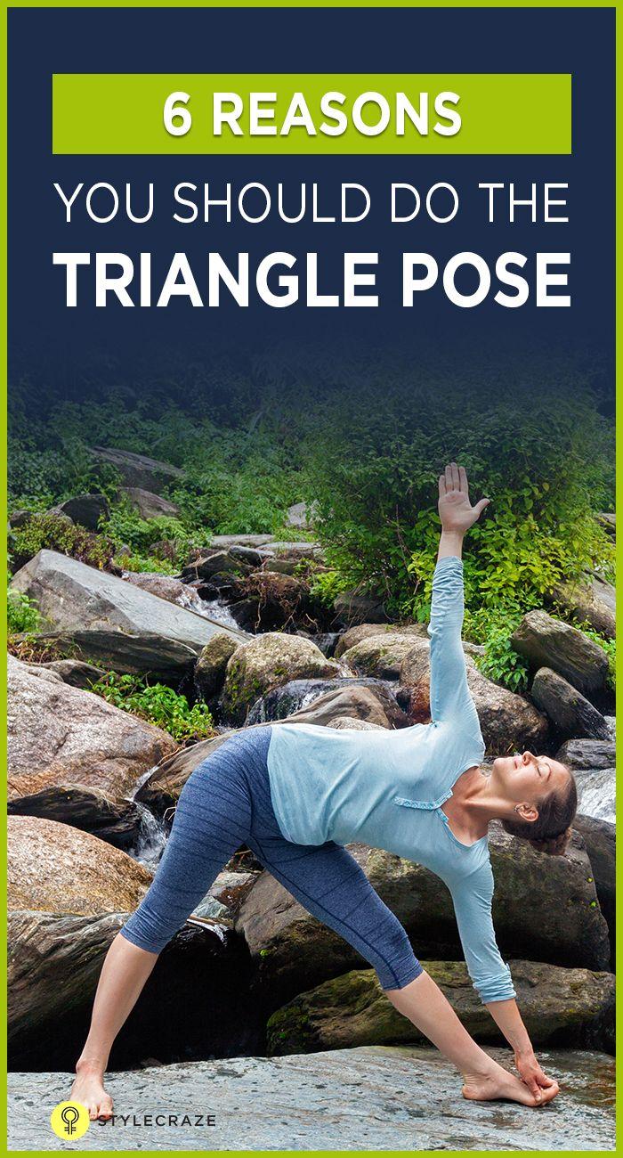 Exercice Du Yoga   Comment faire le Trikonasana et quels sont ses avantages 8f9b7fe722d