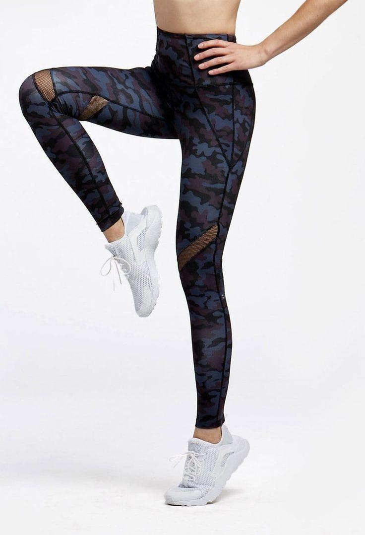 meilleurs look pour salle de sport et gym portia high waist legging camo virtual. Black Bedroom Furniture Sets. Home Design Ideas