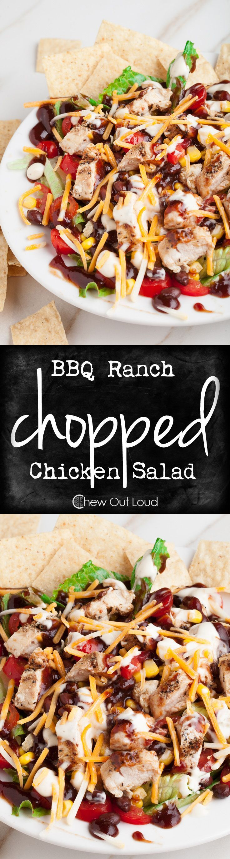 programme du r gime bbq ranch salade de poulet hach facile d licieux et nutritif awesome. Black Bedroom Furniture Sets. Home Design Ideas