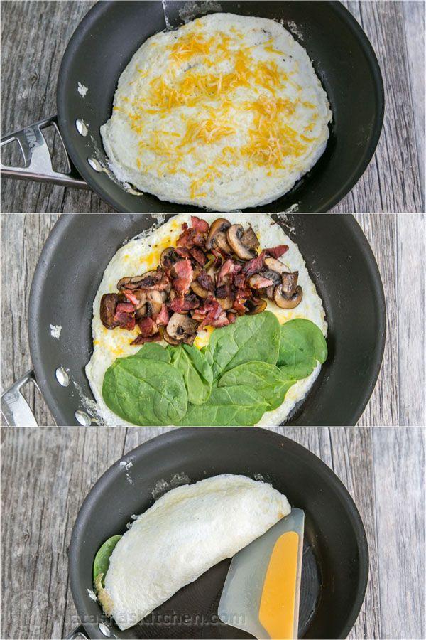 programme du r gime omelette aux oeufs blancs recette d 39 omelette omelette aux pinards aux. Black Bedroom Furniture Sets. Home Design Ideas