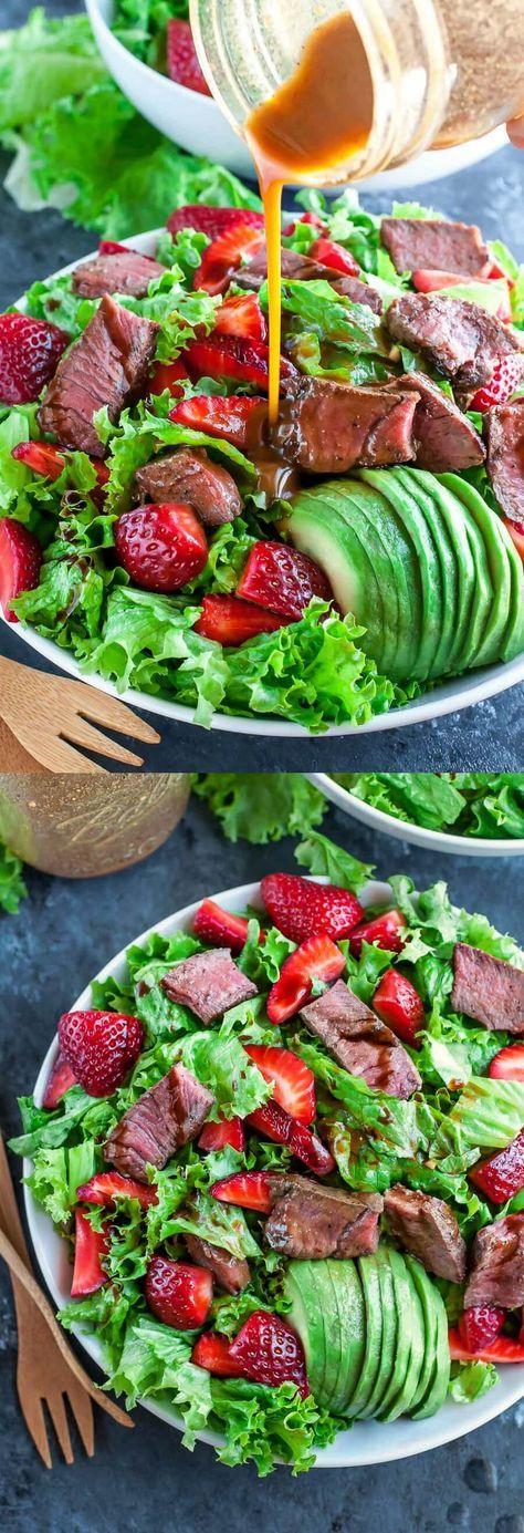 programme du r gime pr t en moins de 25 minutes cette salade de morceaux de fraises avec. Black Bedroom Furniture Sets. Home Design Ideas