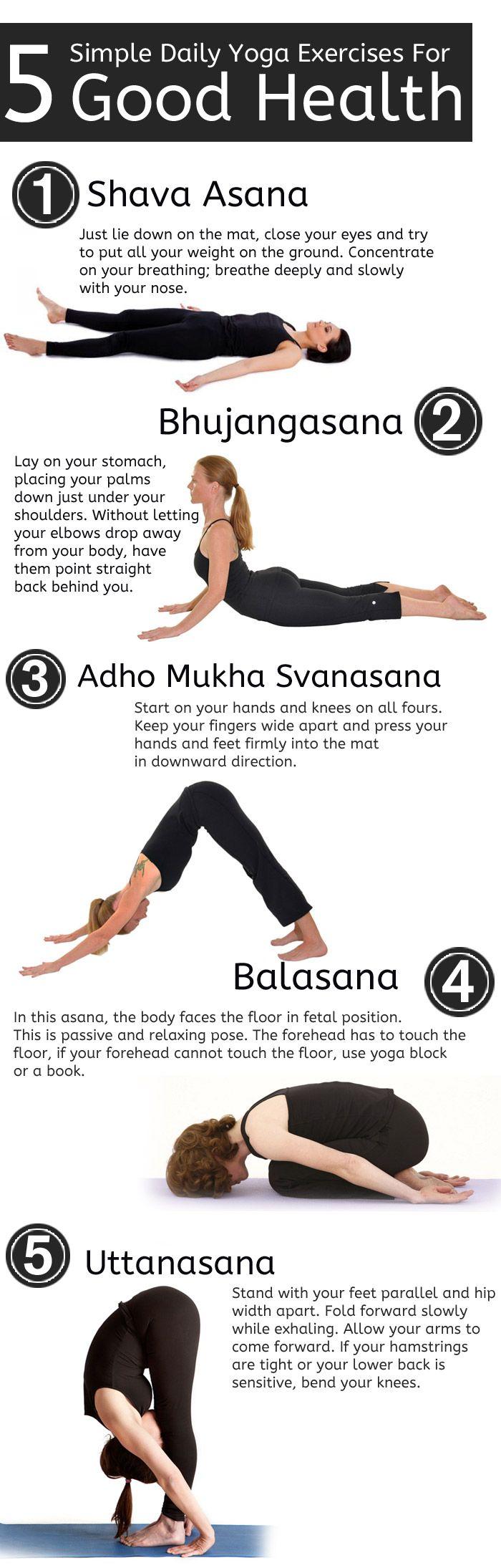 exercice du yoga 5 exercices quotidiens simples de yoga pour une bonne sant virtual. Black Bedroom Furniture Sets. Home Design Ideas