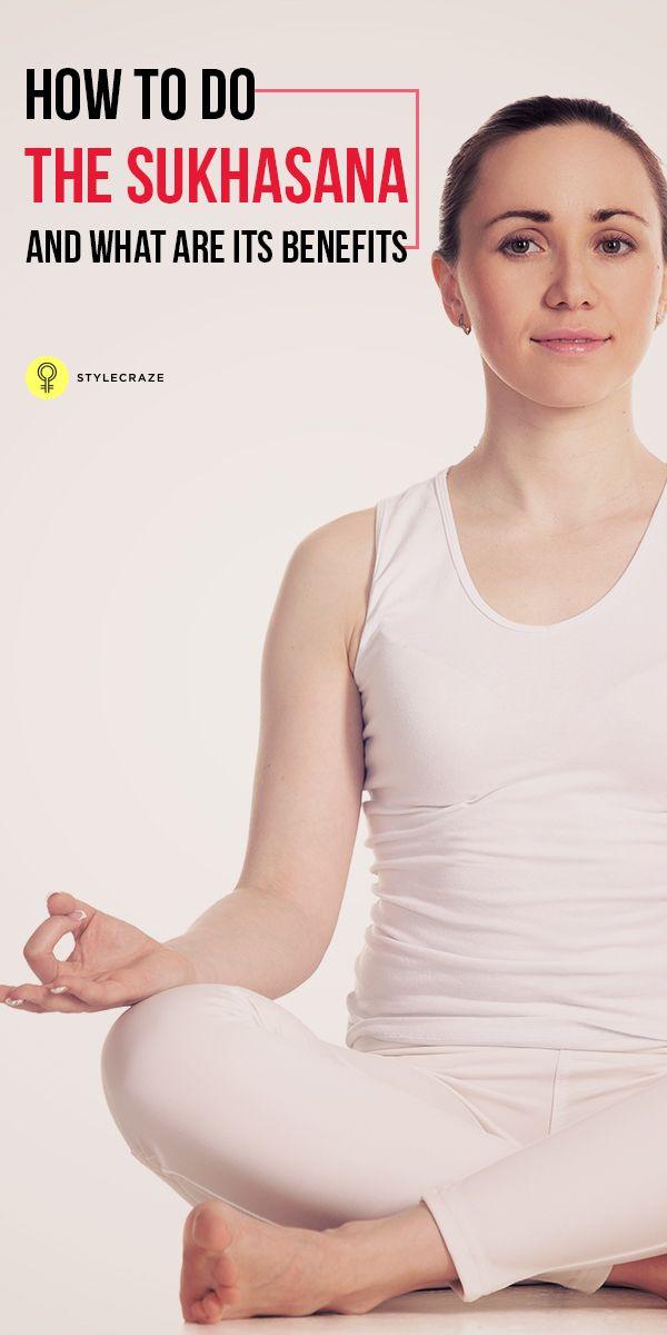 exercice du yoga comment faire le sukhasana cette pose est la plus adapt e la m ditation. Black Bedroom Furniture Sets. Home Design Ideas
