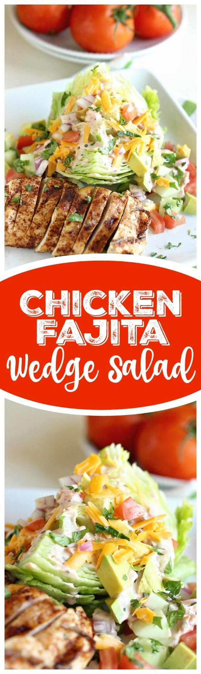 programme du r gime cette salade de poulet fajita wedge est un moyen id al pour profiter des. Black Bedroom Furniture Sets. Home Design Ideas