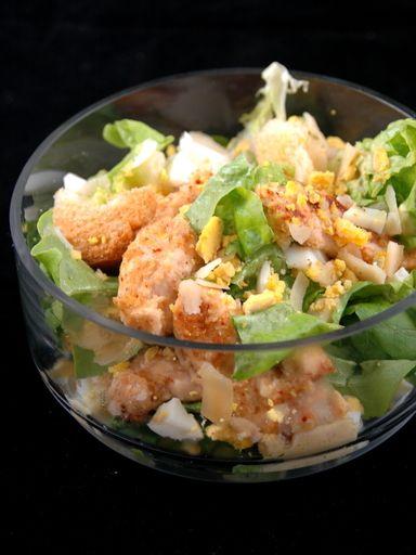 Recette minceur recette salade c sar au poulet light - Recette salade cesar au poulet grille ...