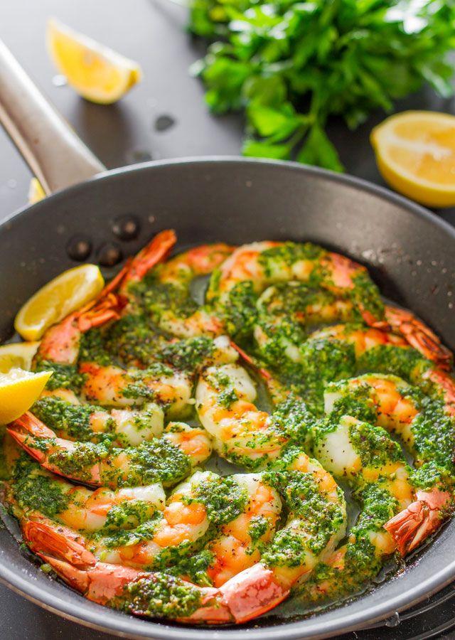 Healthy Motivation : Crevettes au beurre à l'ail et au