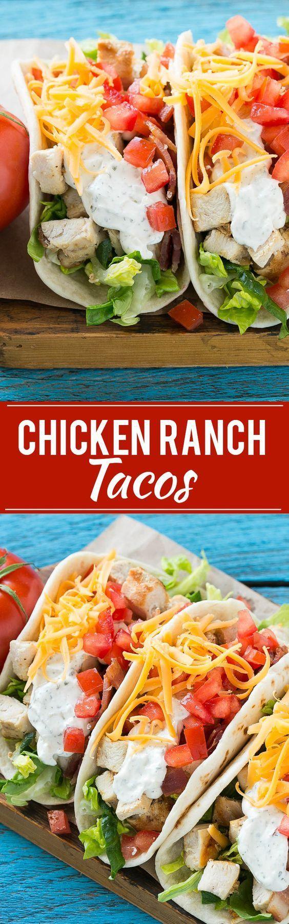 programme du r gime cette recette pour les tacos de poulet est un poulet grill au bacon une. Black Bedroom Furniture Sets. Home Design Ideas