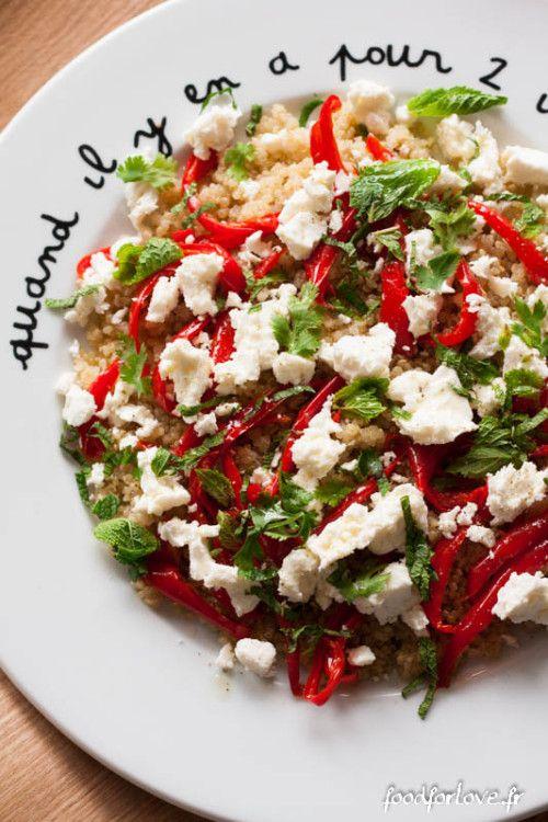 salade de quinoa minceur