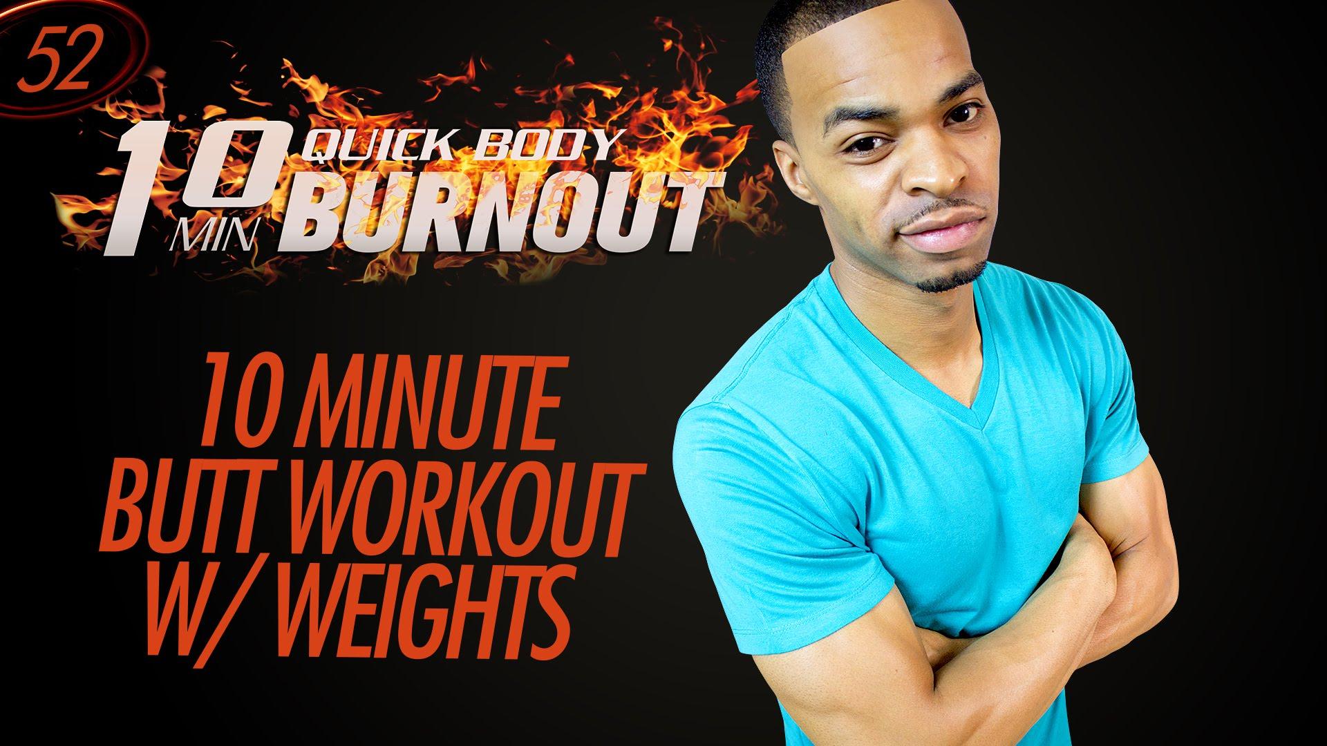 Workout Tips Video 10 Min Mat Butt Workout W
