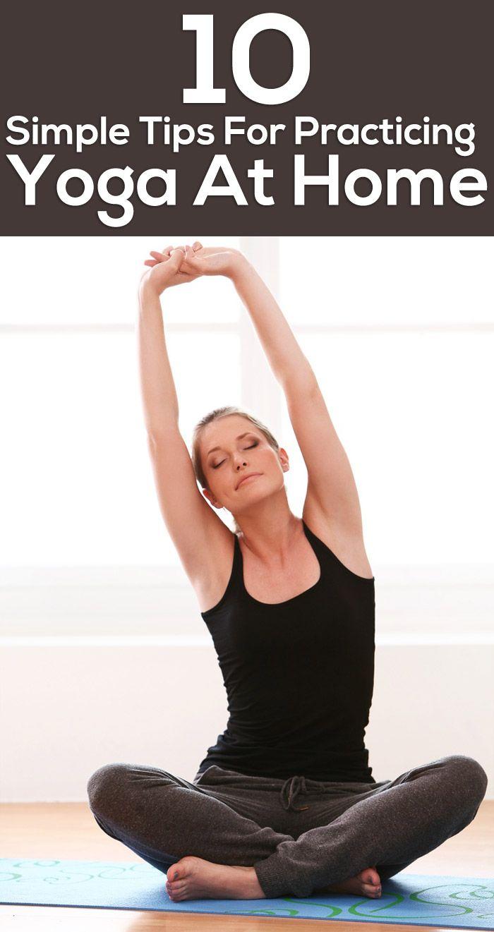 exercice du yoga 10 conseils simples pour la pratique du yoga la maison virtual fitness. Black Bedroom Furniture Sets. Home Design Ideas