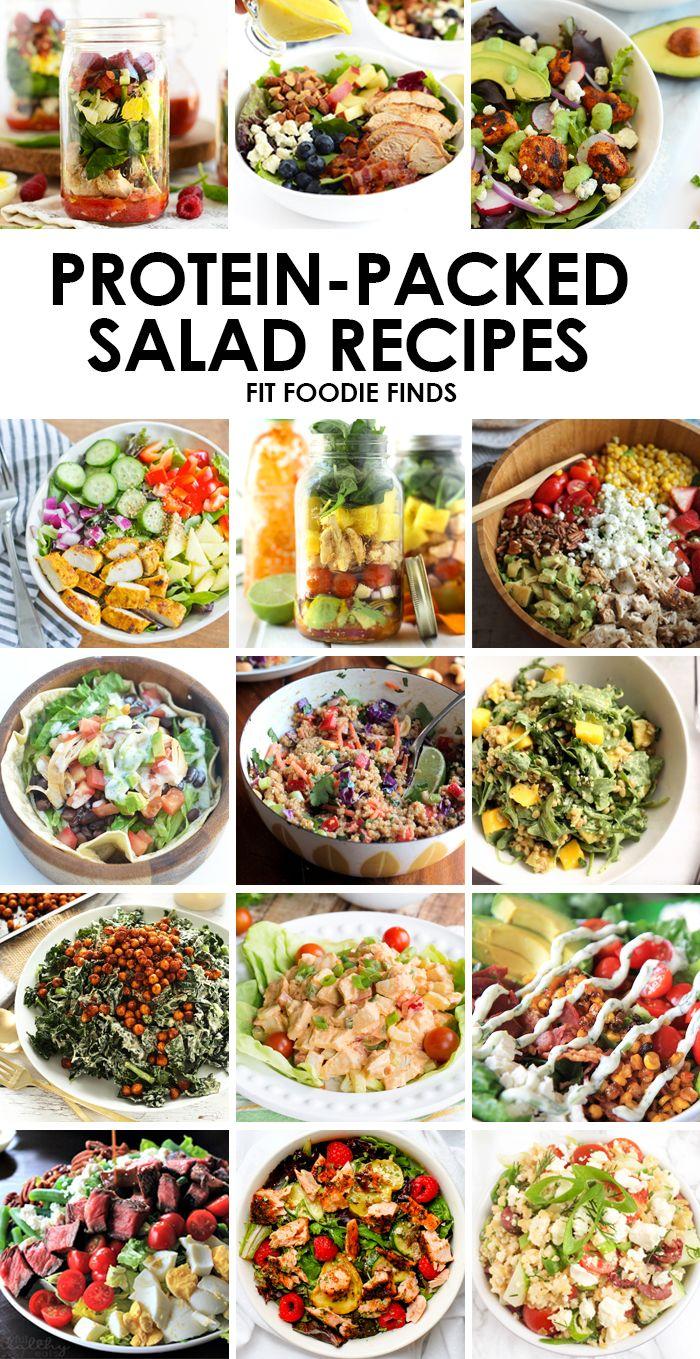 programme du r gime pr parez une de ces recettes de salades compos es de prot ines pour un. Black Bedroom Furniture Sets. Home Design Ideas