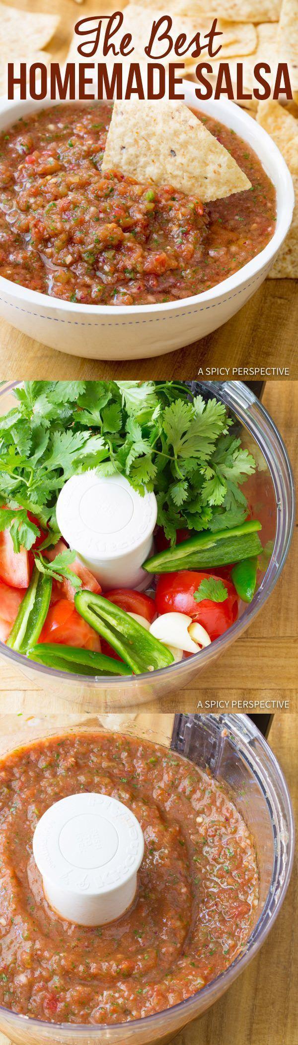 Healthy motivation la meilleure recette de salsa faite maison rapide saine et d licieuse - Recette saine et equilibree ...