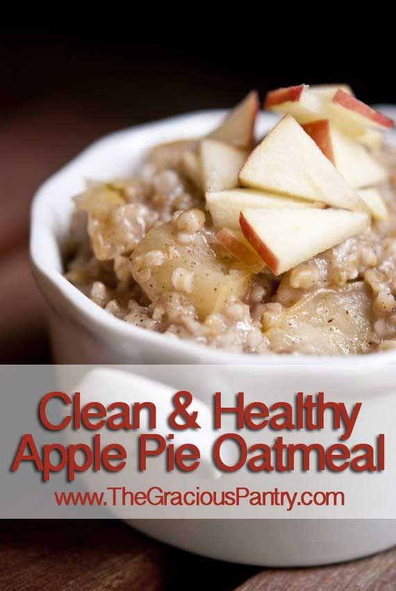 healthy motivation nettoyer manger des flocons d 39 avoine tarte aux pommes virtual fitness. Black Bedroom Furniture Sets. Home Design Ideas