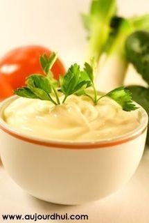 Recette minceur mayonnaise l g re au fromage blanc recette sauce - Recette mayonnaise au mixeur ...