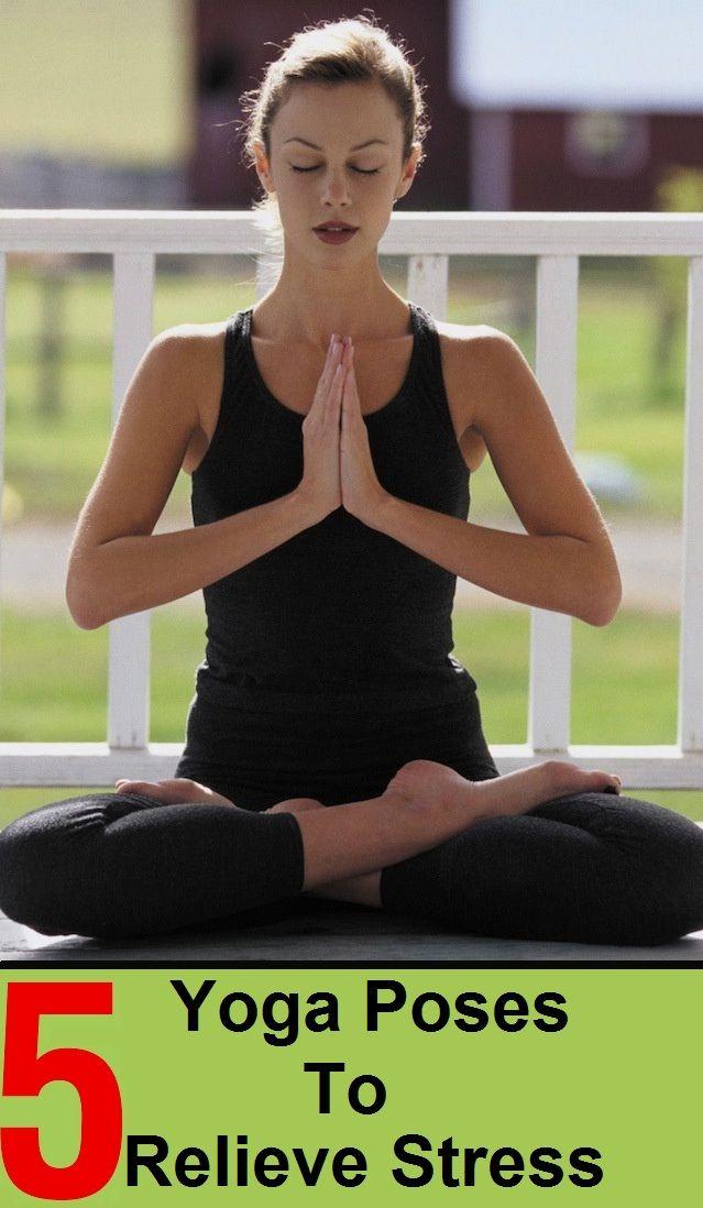 exercice du yoga poses de yoga pour soulager le stress virtual fitness votre magazine d. Black Bedroom Furniture Sets. Home Design Ideas