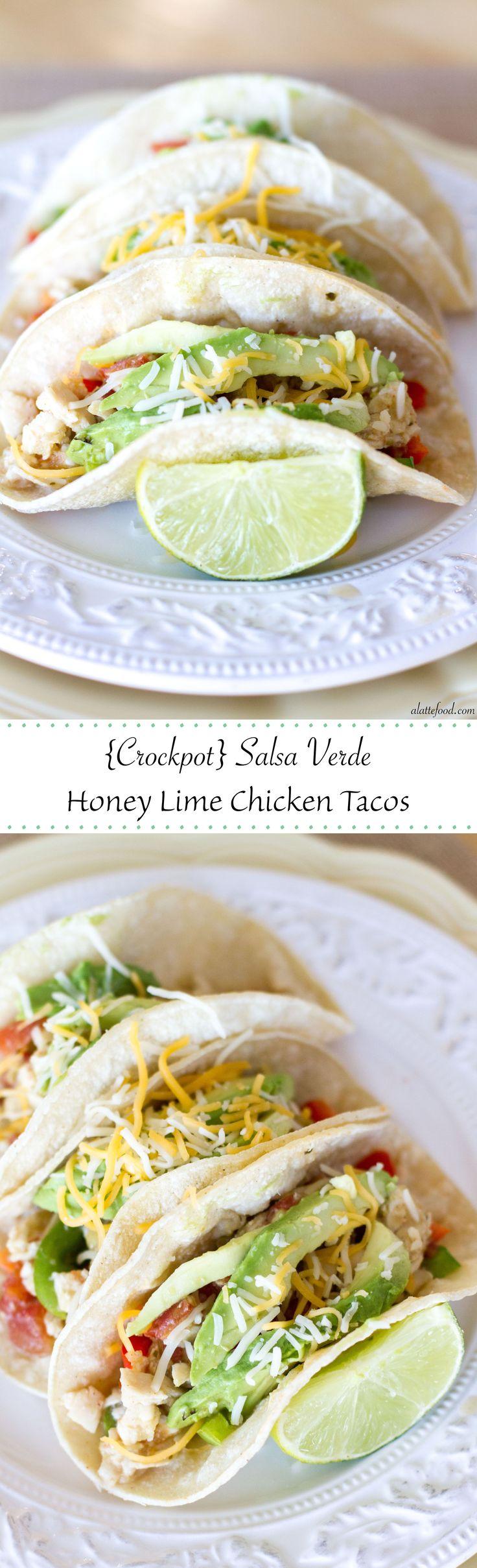 programme du r gime crockpot tacos de poulet au miel et la lime salsa verde une recette. Black Bedroom Furniture Sets. Home Design Ideas