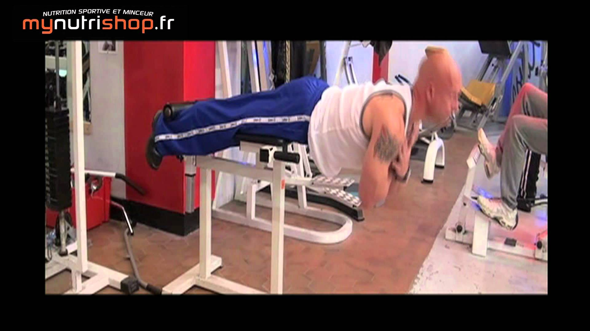 Workout Tips Video Exercice De Musculation Lombaires Extension
