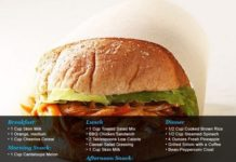 Programme du r gime plan de repas de 1200 1500 calories virtual fitness votre magazine d - Regime a 1200 calories ...