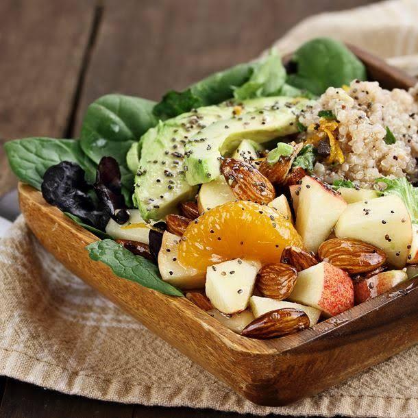 recette minceur salade d tox quinoa avocat et pomme virtual fitness votre magazine d. Black Bedroom Furniture Sets. Home Design Ideas