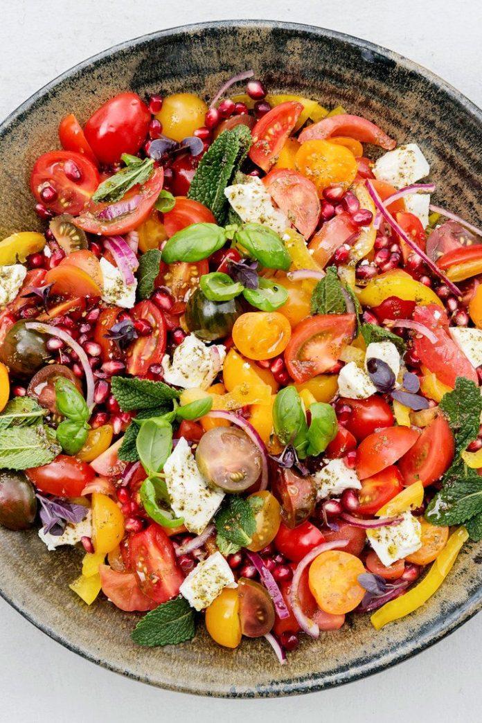 programme du r gime voici un plat qui allie les meilleures saveurs de l 39 t une salade. Black Bedroom Furniture Sets. Home Design Ideas