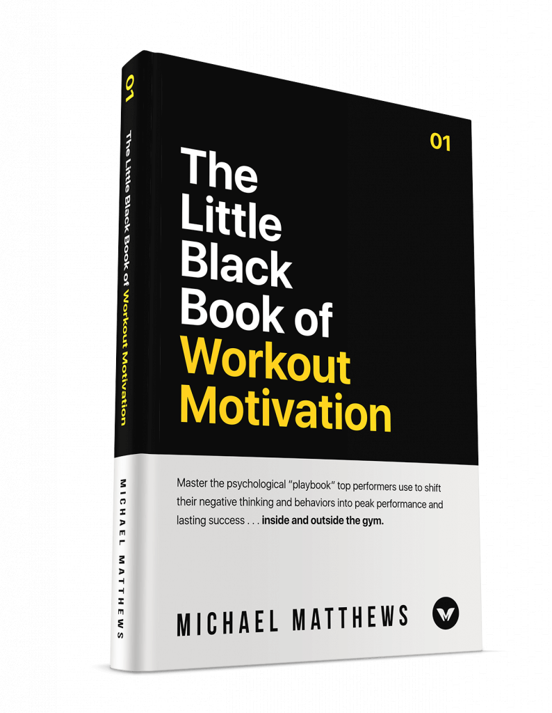little black book of workout motivation cover